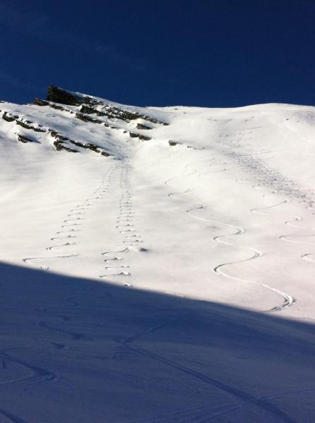 Plate Longe versant Sud Ouest - janvier 2014
