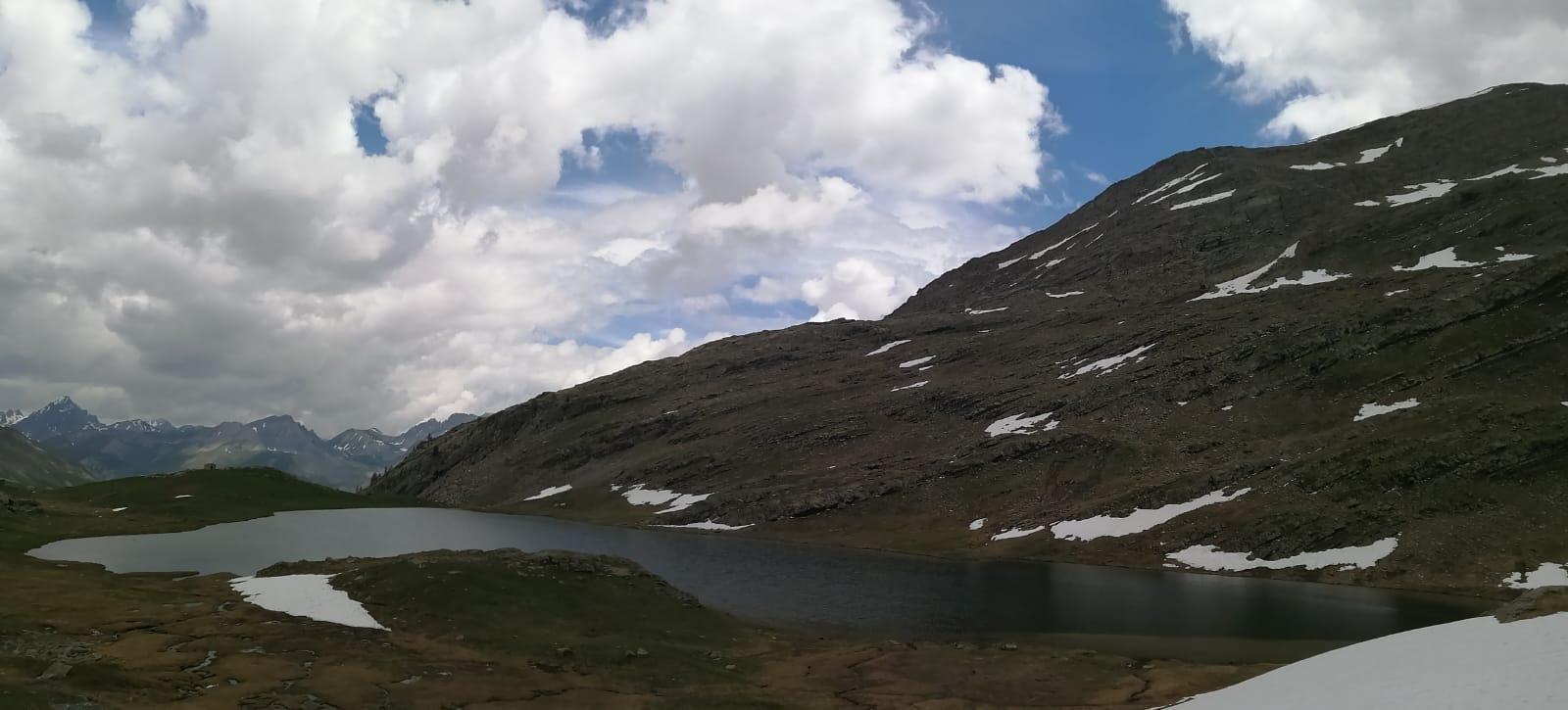 Le Lac du Lauzanier 1er juin 2020